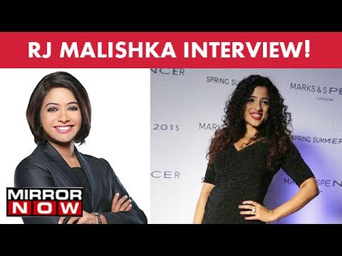 RJ Malishka in an exclusive interview with Faye D'souza