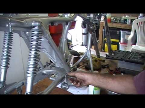 frame painting post prep before use - Motorcycle Frame Paint