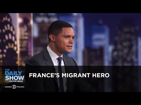 France's Migrant Hero - Between the Scenes | The Daily Show