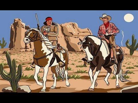 komm hol das lasso raus wir spielen cowboy indianer youtube. Black Bedroom Furniture Sets. Home Design Ideas