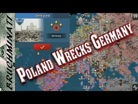 World Conqueror 4 | Poland 1939 #1; Alternate History Poland Wrecks Germany