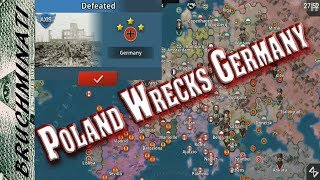 Poland 1939 #1; Alternate History Poland Wrecks Germany | World Conqueror 4