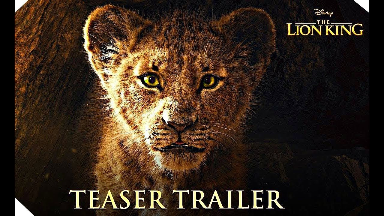 the lion king - official teaser trailer  2019
