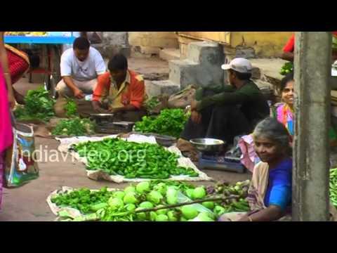 Fruit Market in Porbandar