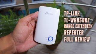 TP LINK WA850RE WiFi Range Extender Review!