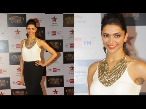 Deepika Padukone @ Big Star Entertainment Awards 2013 !