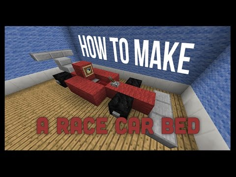 Race Car Bed Minecraft