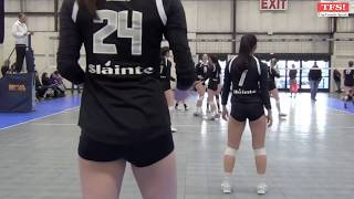 2017 Sláinte Volleyball 18 - Mountain View Volleyball 18Black (Jan Power League Quali)