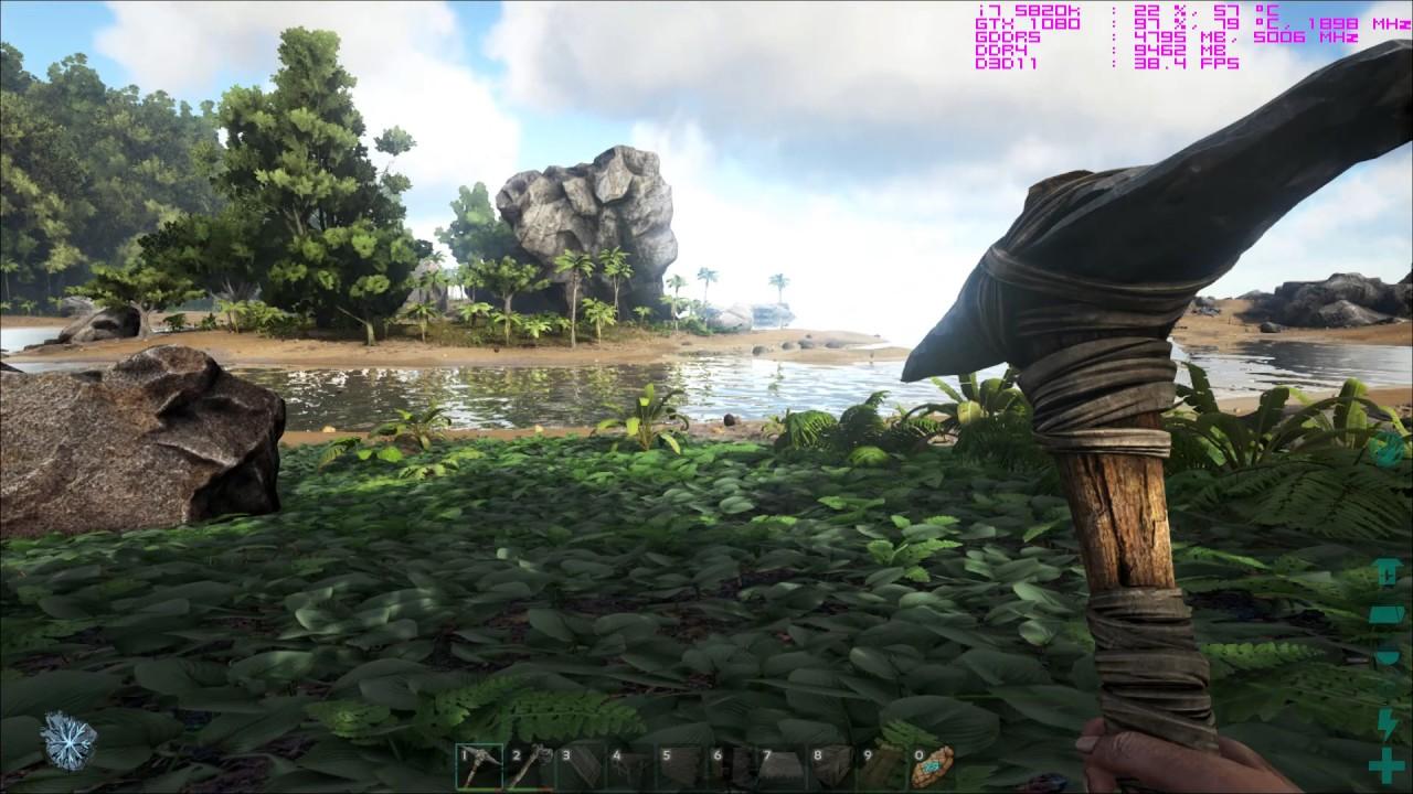 ark survival evolved framerates