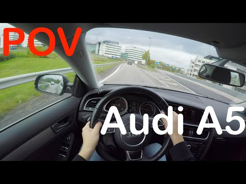 POV Audi A5 Autumn Day Drive + Quick Review - PointOfViewCars