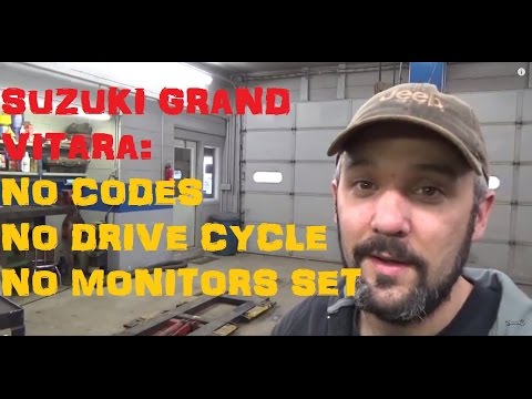 Suzuki Grand Vitara / No Drive Cycle / No Codes - Part I