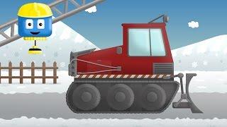 Snow plug - Tom & Matt the Construction Trucks | Construction Cartoons in 3D for kids