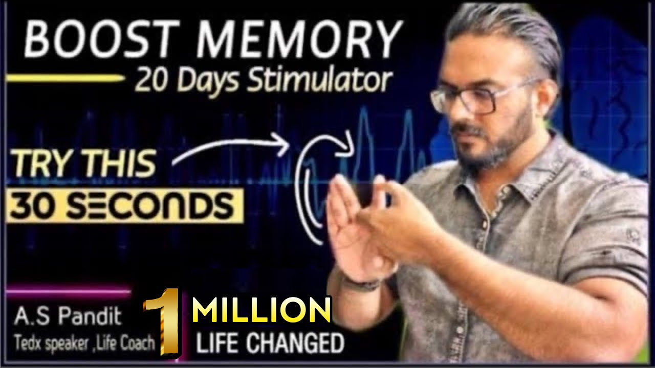 3 BRAIN Exercises to Boost Memory | Every Morning for 30 Sec ONLY
