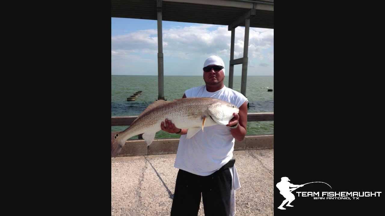 Copano bay pier red 2 youtube for Copano bay fishing
