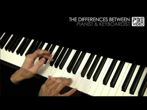 The differences between pianist & keyboardist