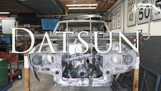 Datsun Series Episode 4 - Engine and Driveline Mount Fab