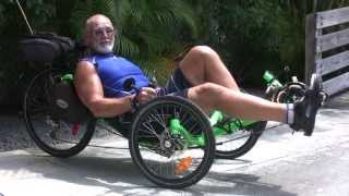 Testimonial Recumbent Trike from Bicycle Outfitters Seminole, on the Pinellas Trail