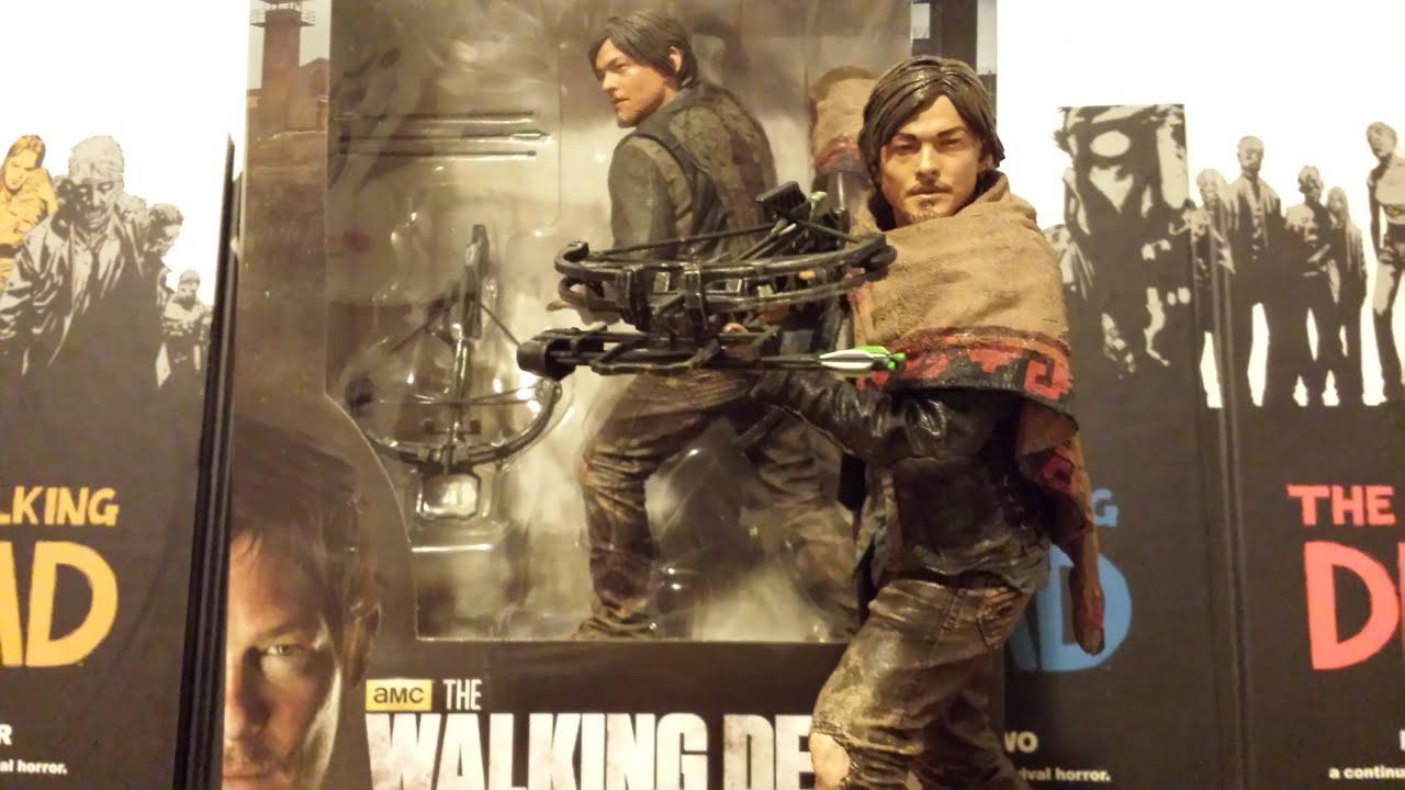 Mcfarlane walking dead series 6 daryl dixon action figure - The Walking Dead Tv Series 10 Inch Daryl Dixon Deluxe Action Figure Hd Youtube