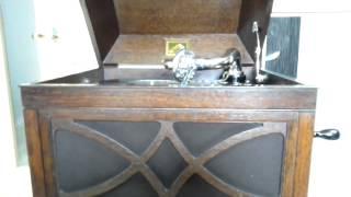 蓄音機レコード 78回転 SP盤 HMV104卓上型 蓄音機.