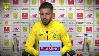VIDEO: Imran Louza avant Stade Brestois - FC Nantes