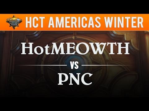 HotMEOWTH vs PNC - Hearthstone Championship Tour Americas 2017:  Round 4