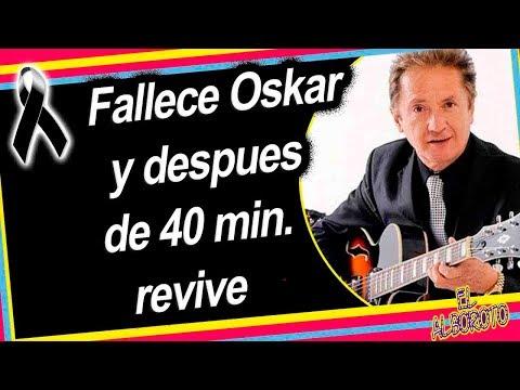Oskar El Espectaculo revive tras estar mu3rto por 40 minutos.