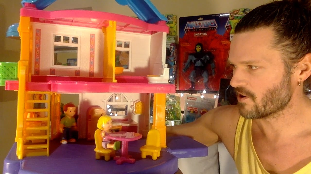 Fisher Price My First Dollhouse Review Youtube