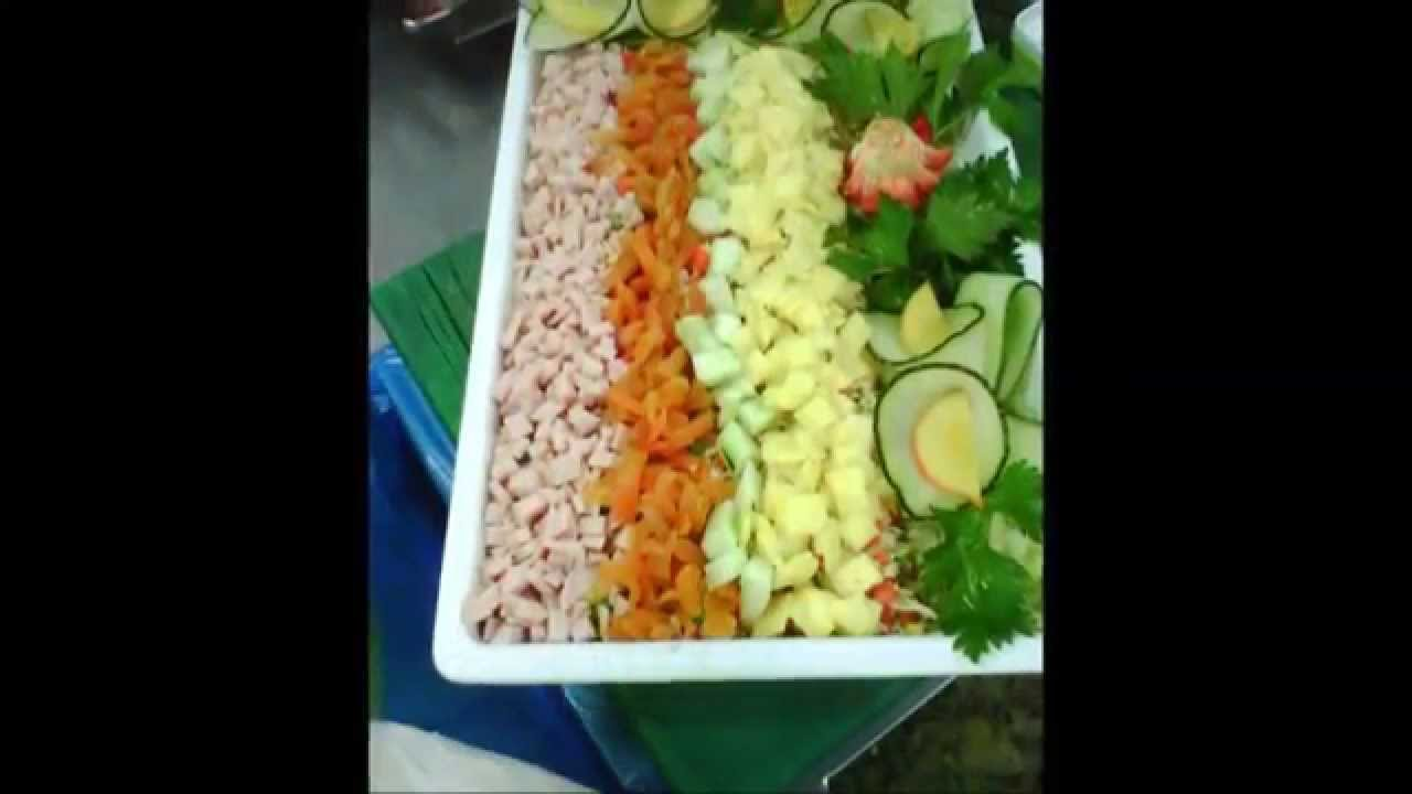 Decoraci n buffet decorvegetal youtube for Decoracion de ensaladas