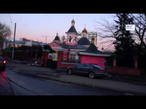 Travel Russia Moscow by tram №8