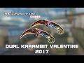 CF China Dual Karambit Valentine 2017 showcase by svanced
