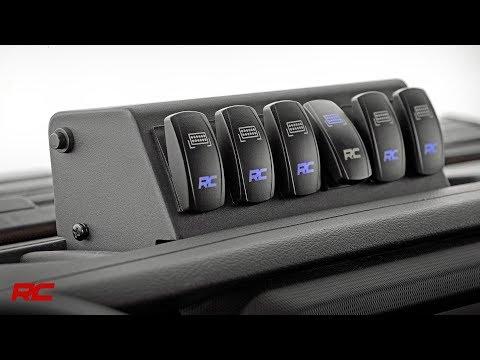 Jeep Wrangler JL MLC-6 Multiple Light Controller by Rough