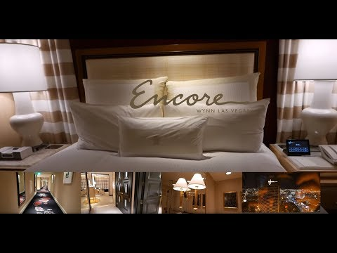 Encore Panoramic Strip View King Room Tour