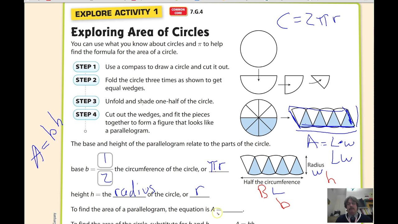 Lesson 9.2 Area of Circles - YouTube [ 720 x 1280 Pixel ]