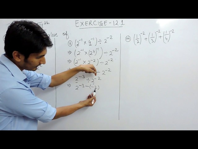 Exercise 12.1 - Question 3 (i,ii,iii) NCERT Solutions for Class 8th Maths Exponents and Powers