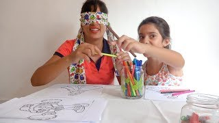 Desafio Colorindo com 3 cores - Yasmin Verissimo & Mamãe