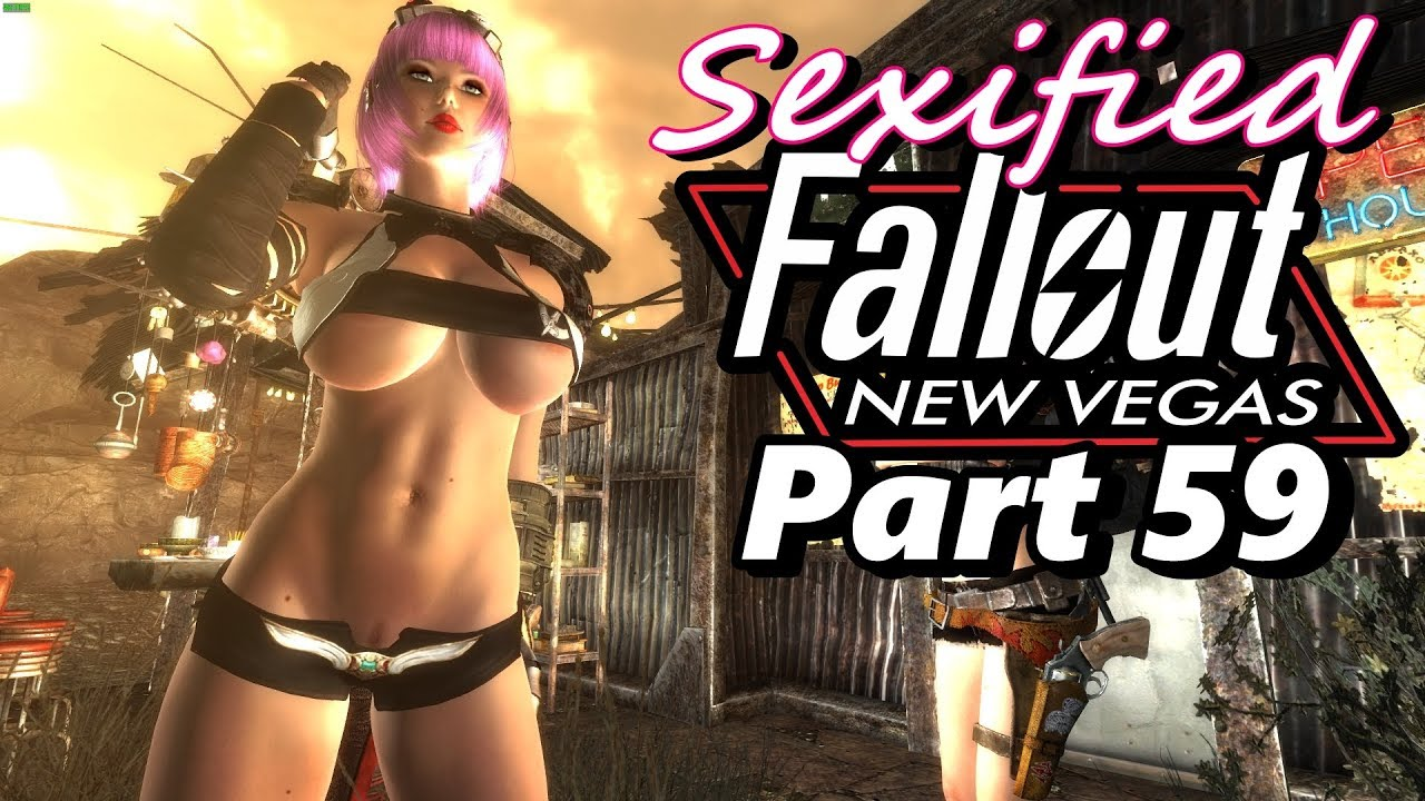 Sexified Fallout: New Vegas - Part 59 (Bouncing Breasts In Miners Cove)