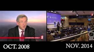 Paradis fiscal :quand Juncker se fâchait chez Pujadas