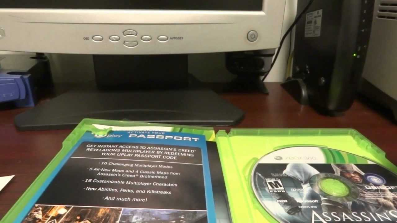Assassin's Creed: Revelations Uplay Passcode Giveaway (xbox 360) ˜�[closed]★