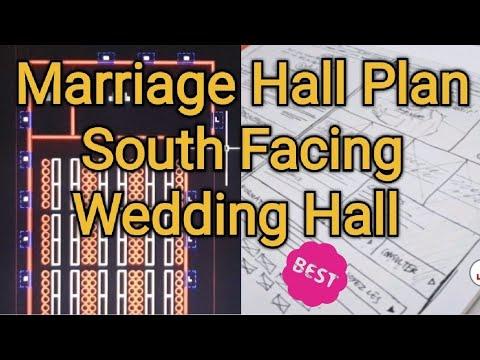 Marriage Hall Plan | 300 Members South Facing Mahal Plan | GIRI Homes Kumbakonam