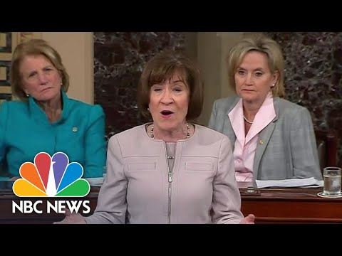 Senator Susan Collins: 'I Will Vote To Confim Judge Brett Kavanaugh' | NBC News