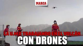 La UME continúa trabajando en La Palma con la ayuda de drones I MARCA