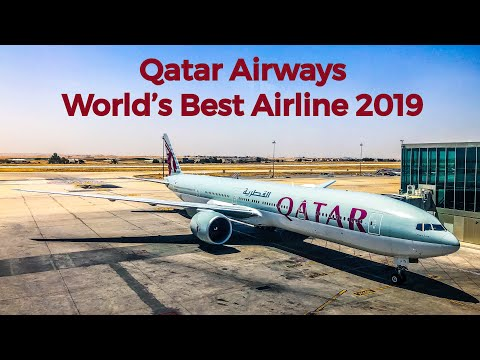 *WORLD'S BEST AIRLINE* QATAR AIRWAYS Economy Class | Boeing 777-300ER | Amman - Doha