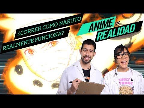 Correr como Naruto - Anime vs Realidad