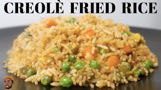 Creolé Fried Rice   DO THIS WITH THE KIDS'  LEFTOVERS   THEY'LL EAT IT I PROMISE