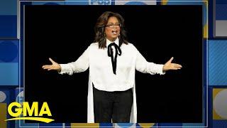 Oprah announces guests for 2020 arena tour l GMA