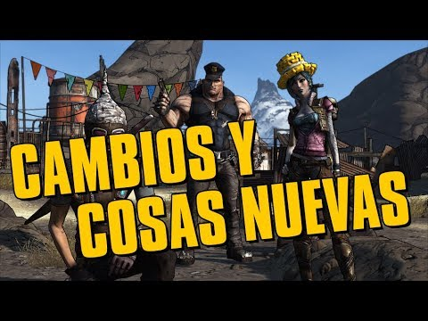 Lista de cambios y cosas nuevas en Borderlands: Game of the year edition