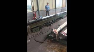 the dump truck hydraulic cylinders test