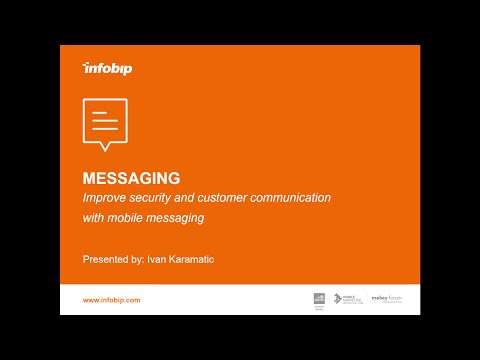 Improve security and customer communication with mobile messaging