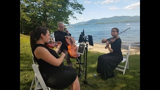 Bach Air on the G String | Lake George Wedding 6.9.2018