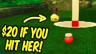 Bribing my friends to ruin my wife - Golf It Funny Moments